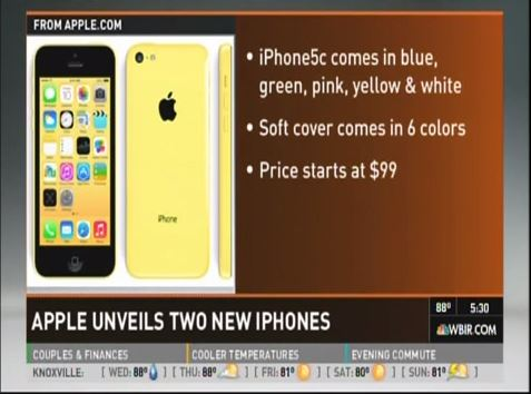 What's up with the iPhone 5S and C?
