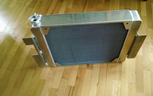 Oil pan and radiator showed up