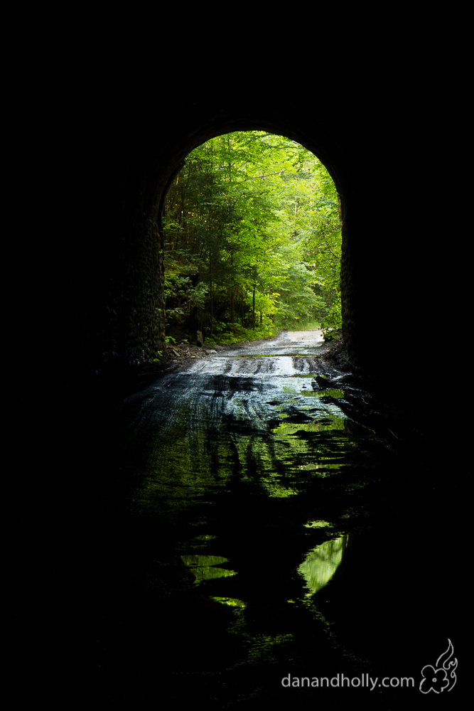 The Nemo tunnel in the Catoosa Wildlife Management Area