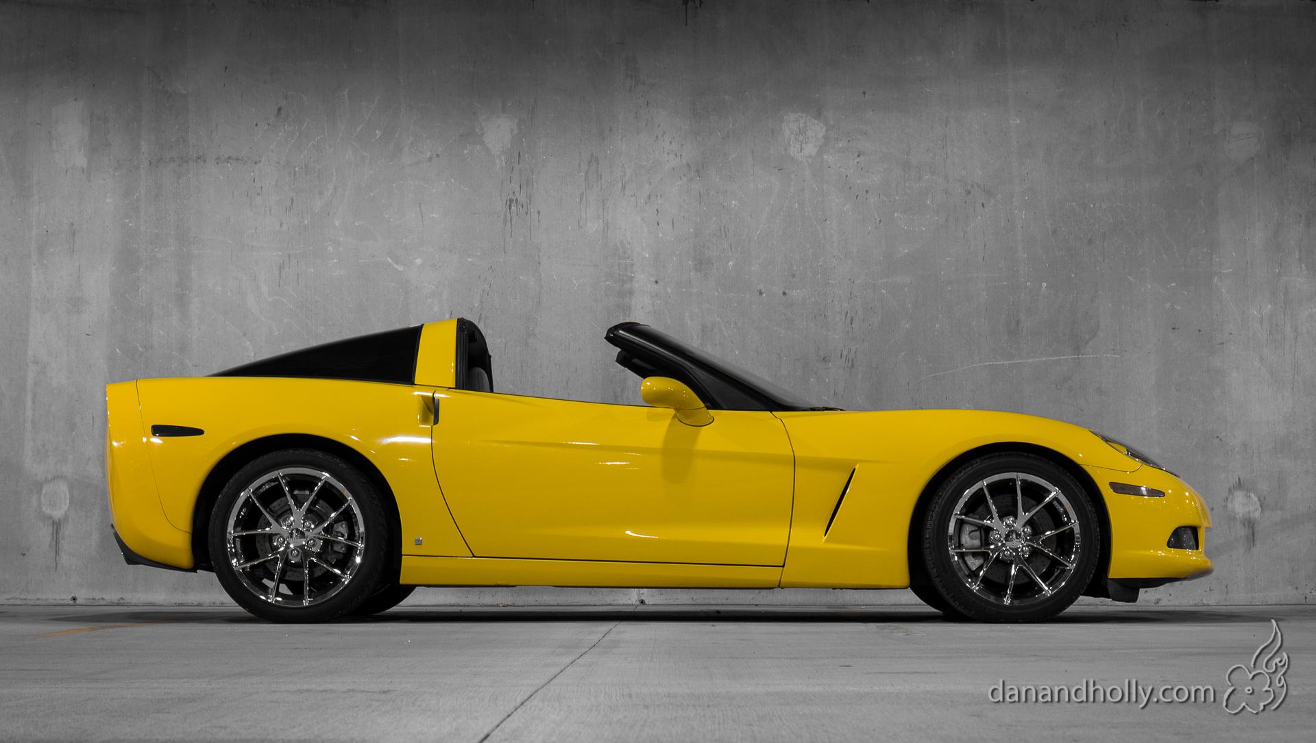Little Yellow Corvette