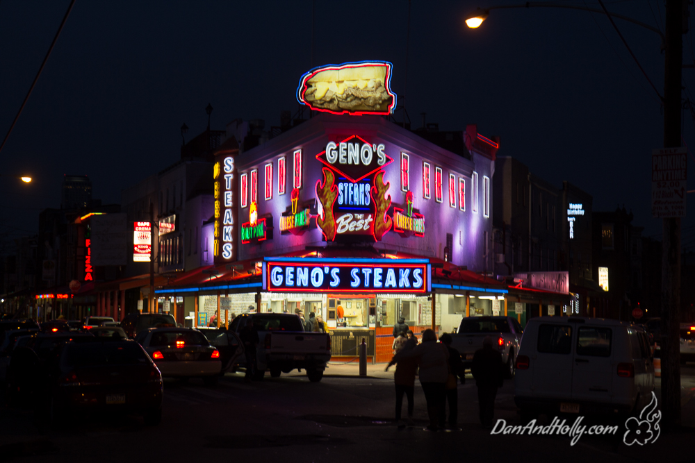 Restaurant Review: Geno's or Pat's?