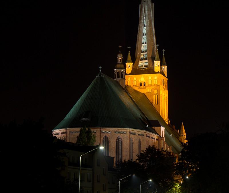 Blood Moon over Szczecin