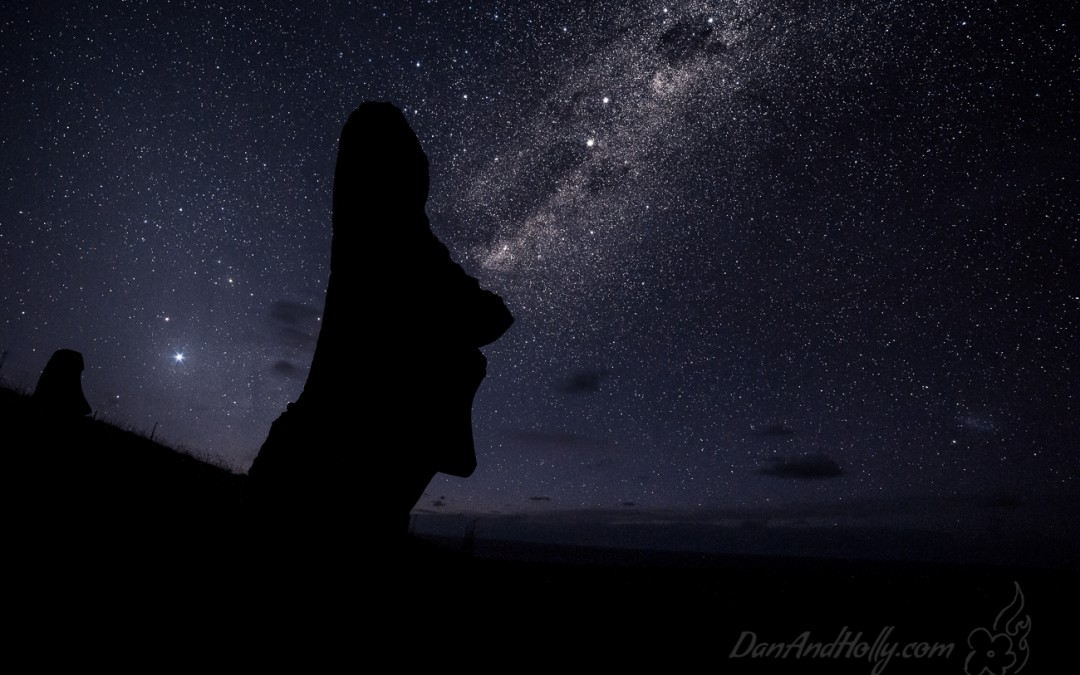 Easter Island at Night