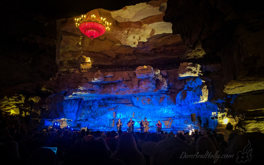 Bluegrass… In a CAVE!
