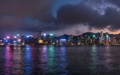 Hong Kong's Electric Skyline