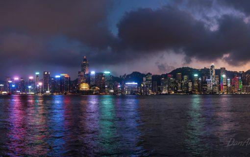 Hong Kong's Electric Skyline