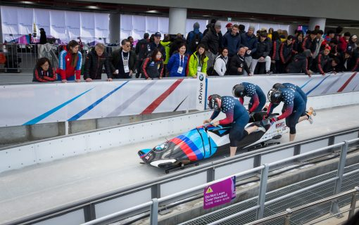 World Cup Bobsled Finals in Pyeongchang, South Korea