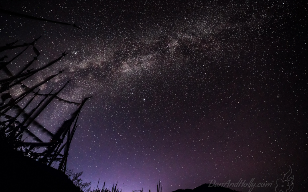 Milky Way over Bhutan