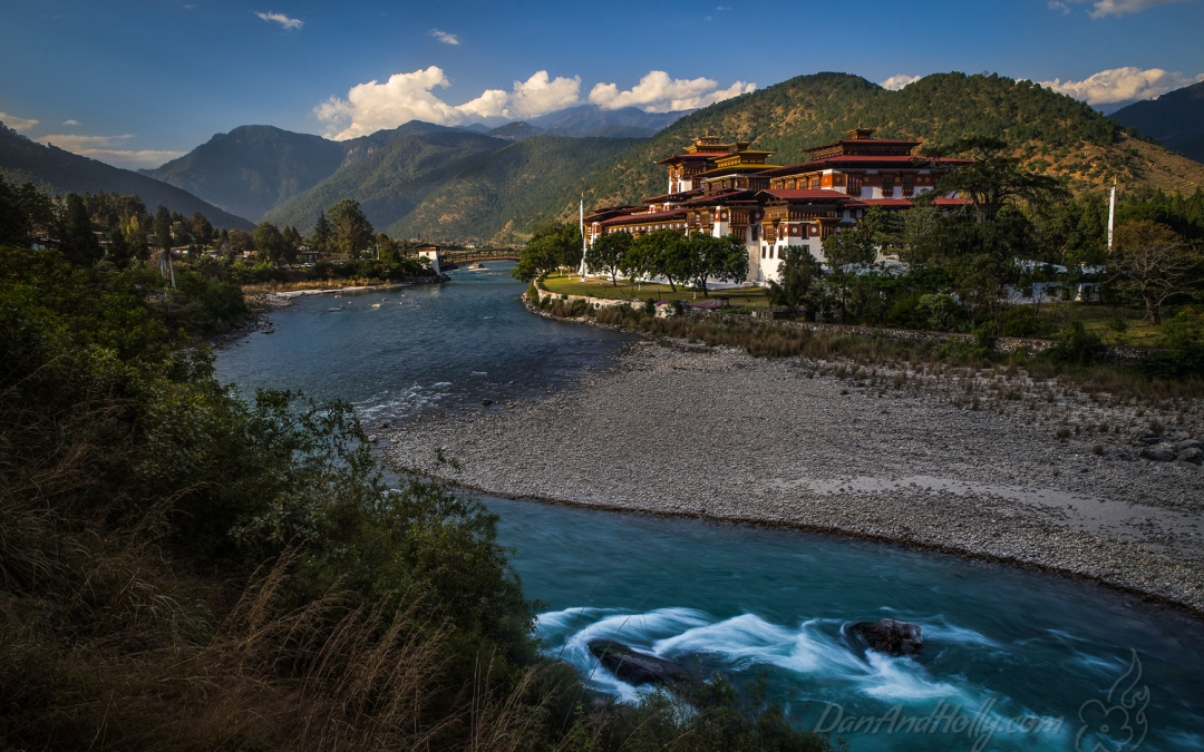 Punakha Dzong in Punakha, Bhutan
