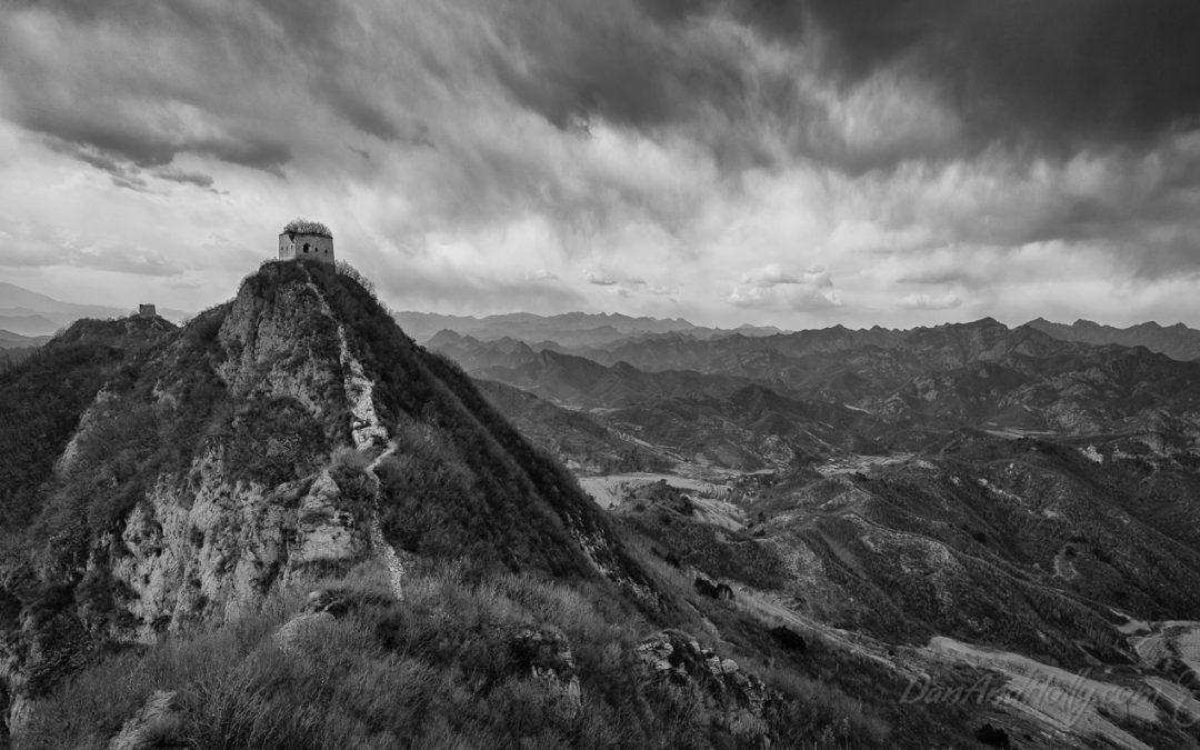 Hiking the Zhuizishan Great Wall