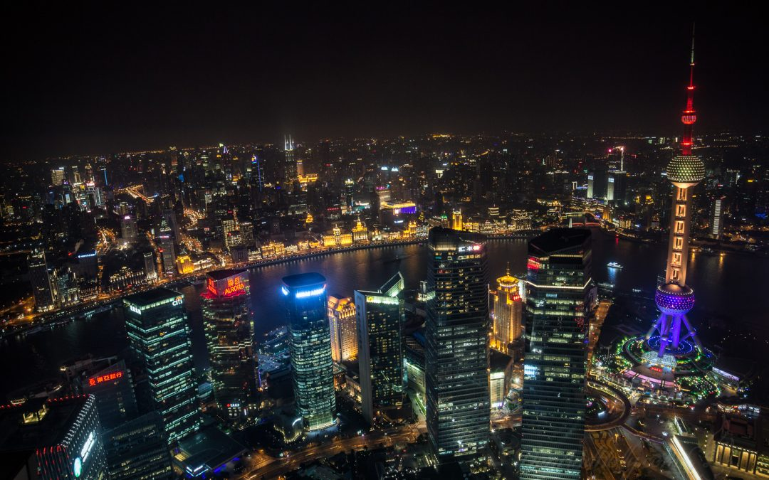 The View from Shanghai's Tallest Buildings