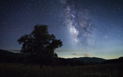 Saying Goodbye to Summer and the Milky Way