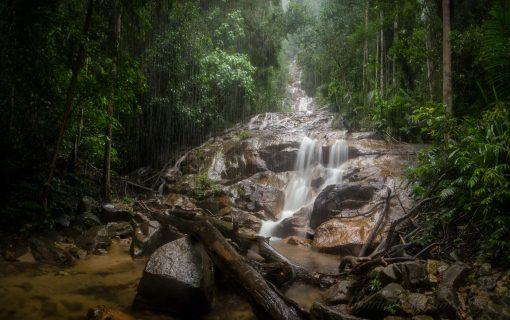 Malaysia's Kanching Falls