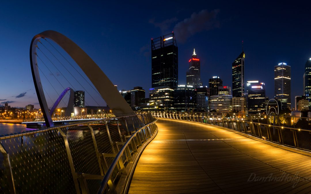 Downtown Perth at Night