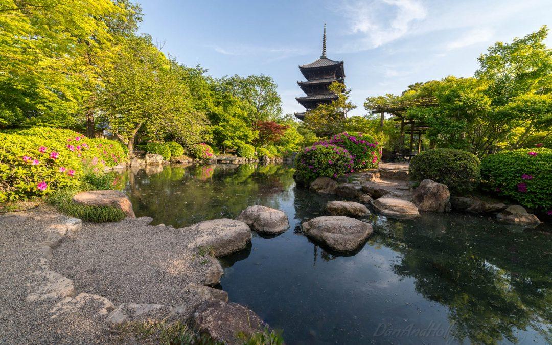 The Tō-ji Pagoda