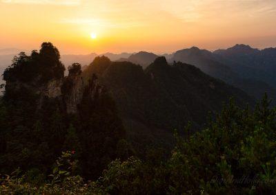 Sunrise at Zhangjiajie