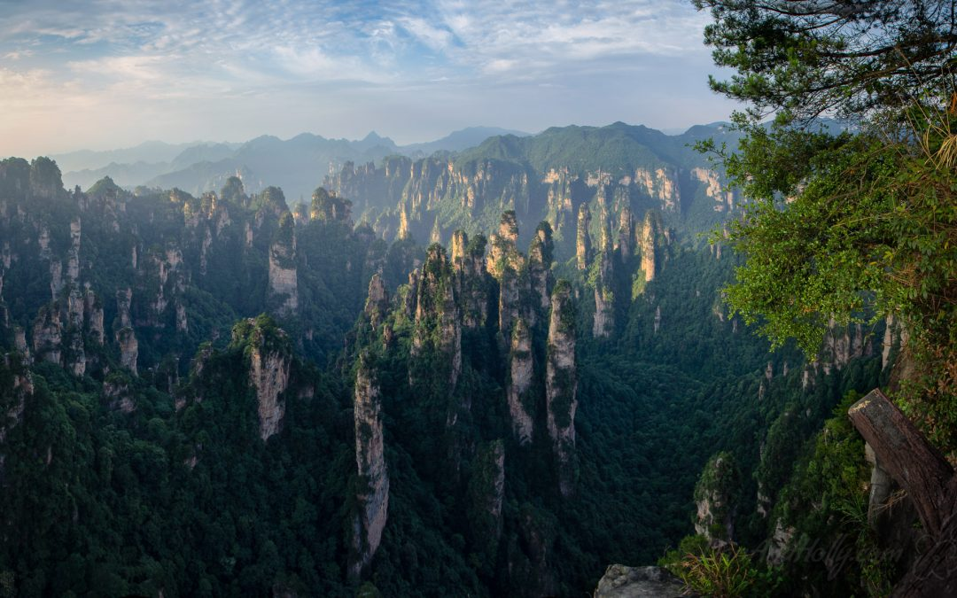 Zhangjiajie at Dawn