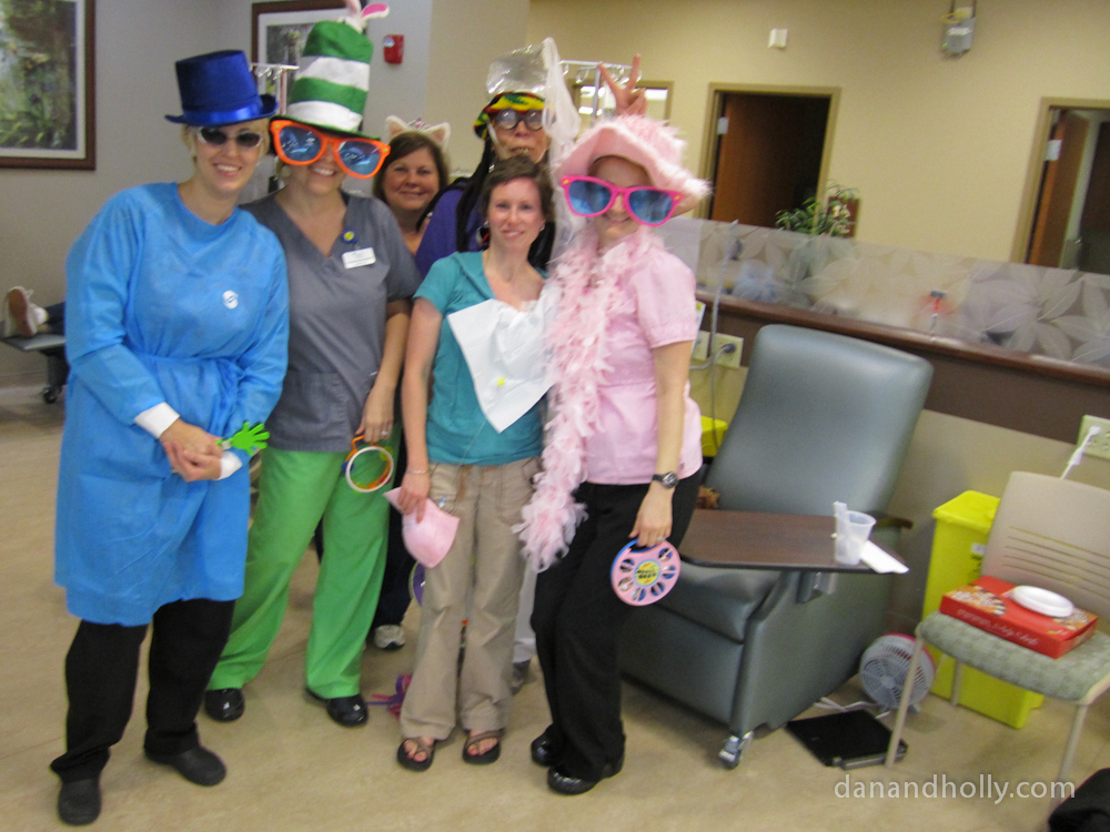 Holly and the staff at Tennessee Cancer Specialists