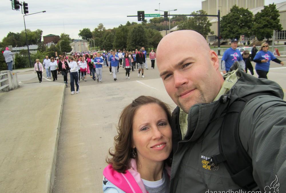 Making Strides Against Breast Cancer 2012