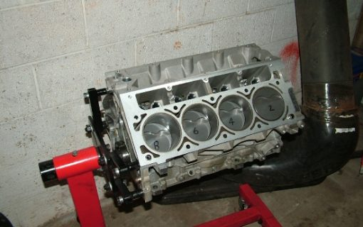 Short block is together