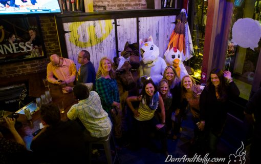 That time I went to a bar with people dressed up in costumes.