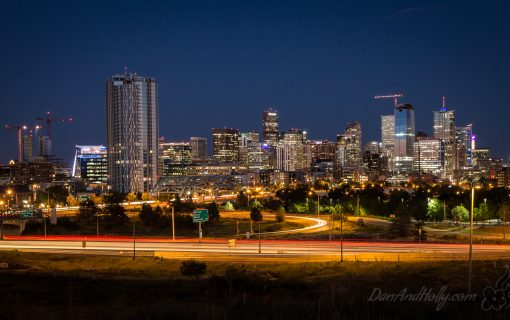 Denver City Lights