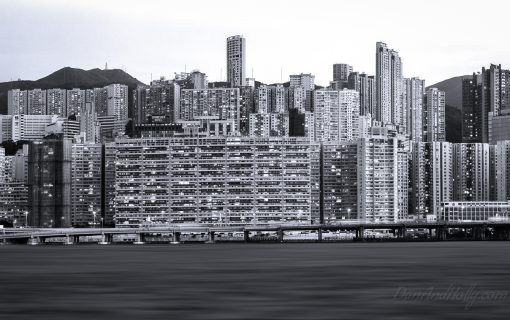 Hong Kong in Black and White