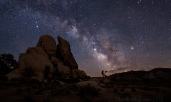 The Milky Way Over Joshua Tree – Part 1