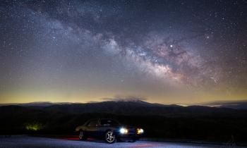 Camaro Under the Stars