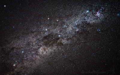 A Cross in the Sky – The Southern Cross and Coalsack Nebula