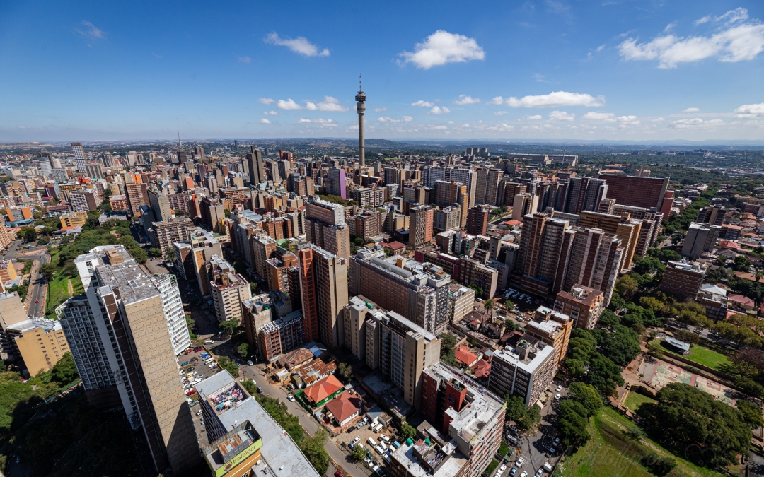 Ponte City – Berea and Hillbrow From Above