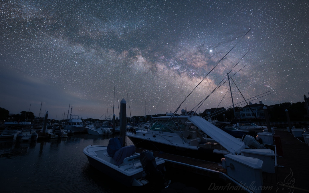 Fishing for the Milky Way