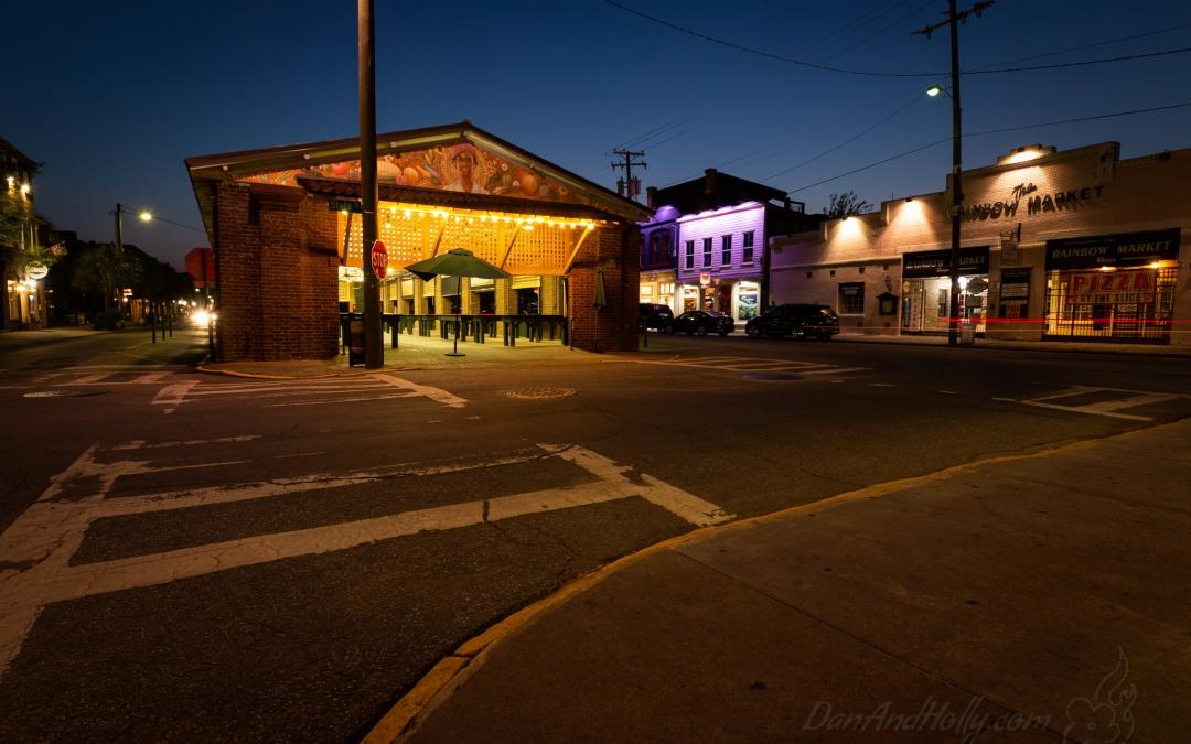 Night at the Charleston City Market