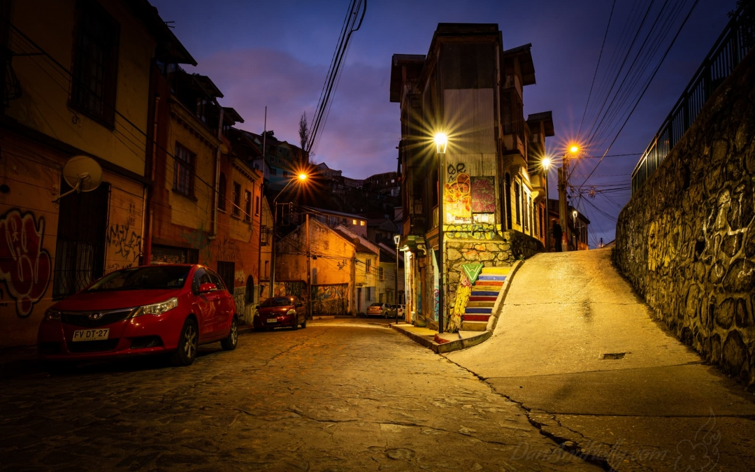 Side Streets of Valparaiso