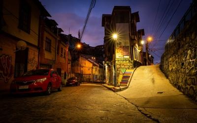 Side Streets of Valparaiso