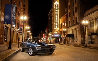 Classic Camaro in Downtown Knoxville