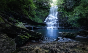 Cul-Car-Mac Falls – Prettiest Falls in Tennessee?