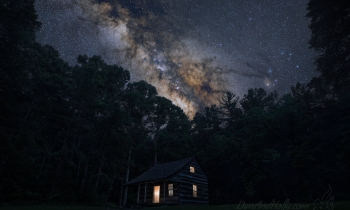 Carter Shields Under the Milky Way
