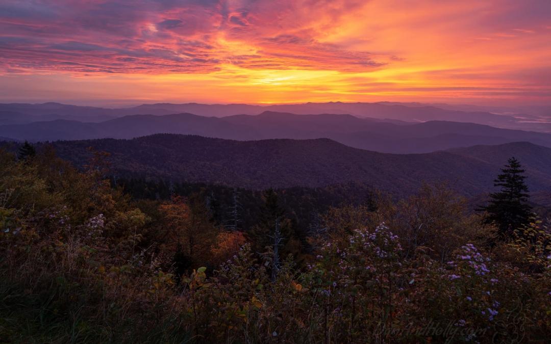 A Clingmans Dome Sunrise