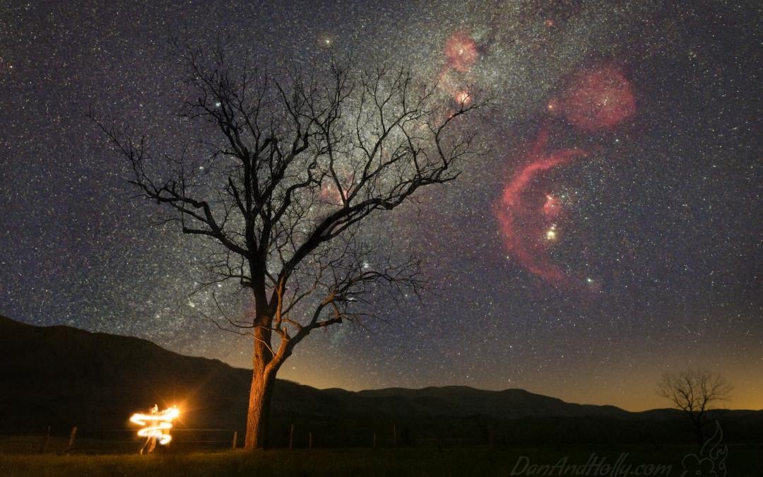 Sending Off the Winter Milky Way