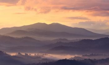 Cerulean Knob at Dawn
