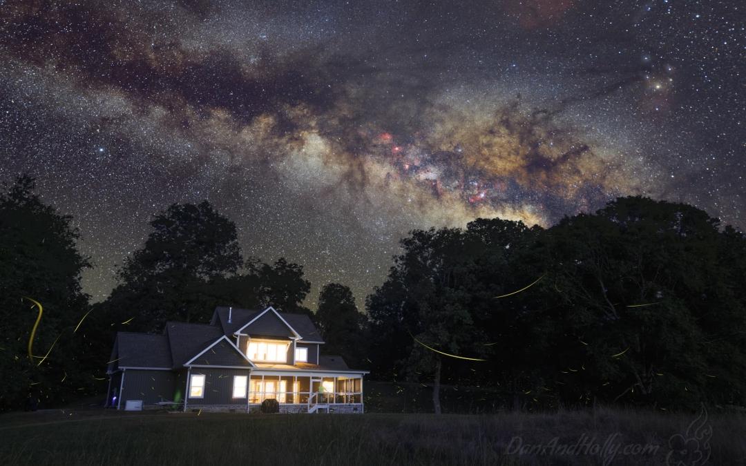 On the Farm Under the Stars